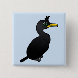 Birdorable Square Buttons with Cute Cartoon Birds