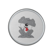 Cute Shaggy Puppy Cartoon Speaker