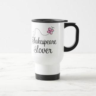 Cute Shakespeare Lover Travel Mug