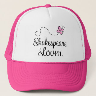 Cute Shakespeare Lover Trucker Hat
