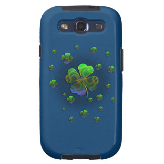 Cute Shamrocks Samsung Galaxy Case Samsung Galaxy S3 Covers