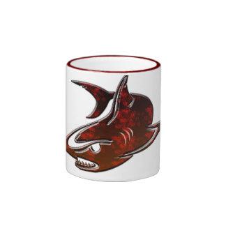 cute shark design coffee mug gift ideas