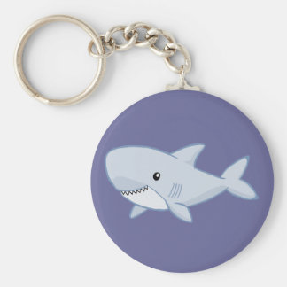 Cute Shark Keychain