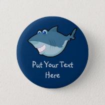 Cute Shark Keychain & Button