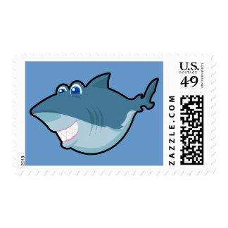 Cute Shark Postage & Greeting Card