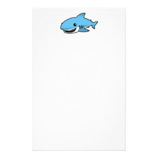 Cute shark stationery