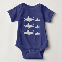 Cute Sharks | Baby Bodysuit