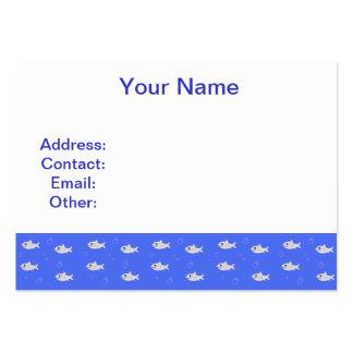 Cute Sharks Business Card