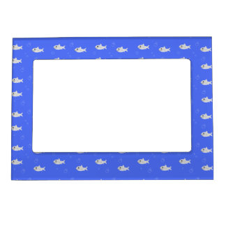 Cute Sharks Magnetic Picture Frame