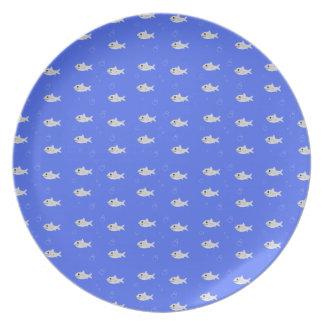 Cute Sharks Plates