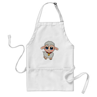 Cute Sheep Adult Apron