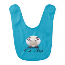 Cute Sheep Baby Bib
