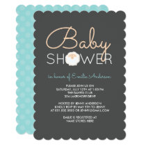 Cute Sheep Baby Shower Invitation
