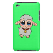 Cute sheep barely there iPod cover