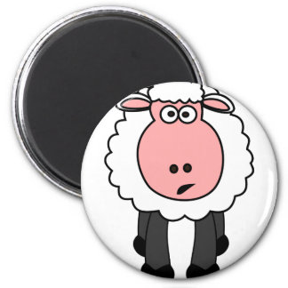 Cute Sheep Design Magnet