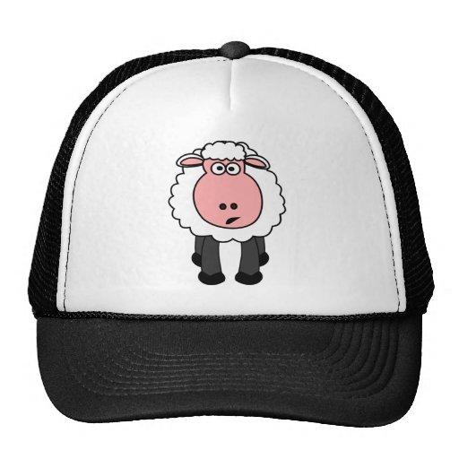 Cute Sheep Design Mesh Hat