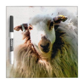 CUTE SHEEP Dry-Erase BOARDS