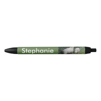 Cute Sheep Eating Leaves Personalized Pen