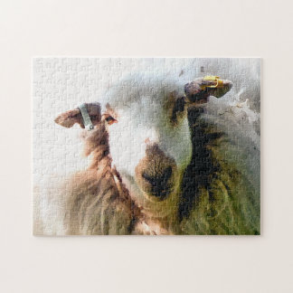CUTE SHEEP JIGSAW PUZZLE