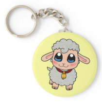 Cute Sheep Keychain