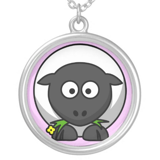 cute sheep necklace