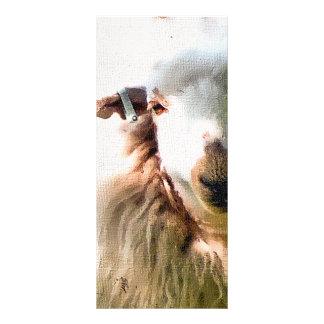 CUTE SHEEP RACK CARD DESIGN
