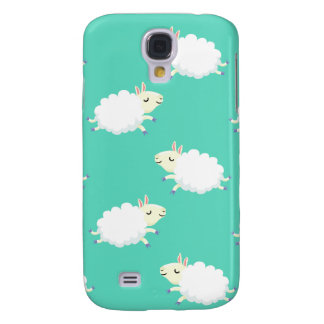 Cute sheep repeating pattern galaxy s4 cover