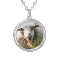 CUTE SHEEP SILVER PLATED NECKLACE