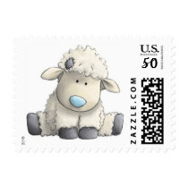 Cute Sheep Stamps -- SMALL