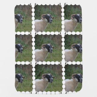 Cute Sheep Stroller Blankets