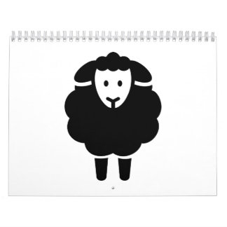 Cute sheep calendar