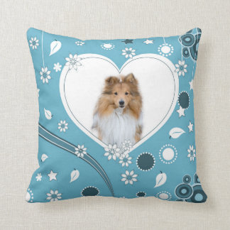 Cute Sheltie Shetland Sheepdog Pillow