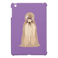 Cute Shih Tzu Dog iPad Case for Dog Lovers