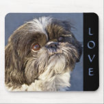 """Cute Shih Tzu Lover Puppy Dog Mom Mouse Pad<br><div class=""""desc"""">Add some Shih Tzu love to your home or office with this adorable puppy dog mousepad. Shih Tzu mousepads are perfect for * gifts - birthday and christmas * dog rescue and adoption programs * cute home and office decor * businesses - vets, groomers, breeders, and trainers. Please scroll down...</div>"""