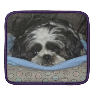 Cute Shih Tzu Puppy Tech Case in Choice of Colors Sleeve For iPads