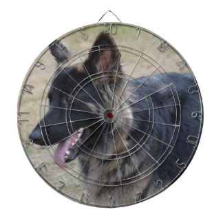 Cute Shiloh Shepherd Dart Board
