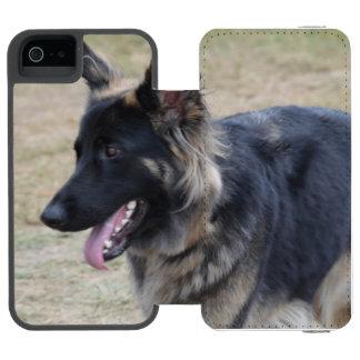 Cute Shiloh Shepherd Wallet Case For iPhone SE/5/5s