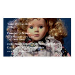 Cute Shirley Temple Doll Double-Sided Standard Business Cards (Pack Of 100)