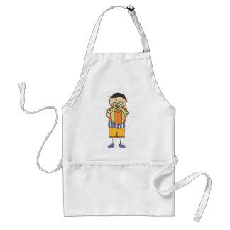 Cute Shirts | Big Boy Holding Gift Shirts Adult Apron