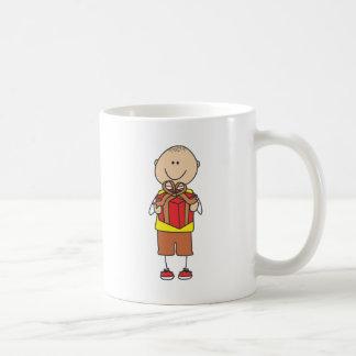 Cute Shirts | Cute Boy Holding Gift Shirts Coffee Mug