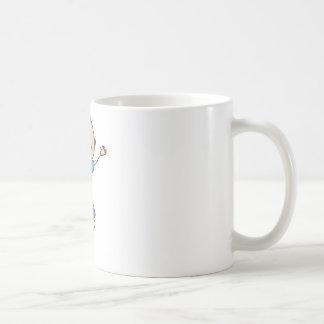Cute Shirts | Cute Boy Jumping Gift Shirts Coffee Mug