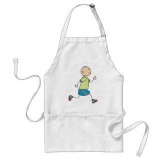 Cute Shirts | Cute Boy Running Gift Shirts Adult Apron