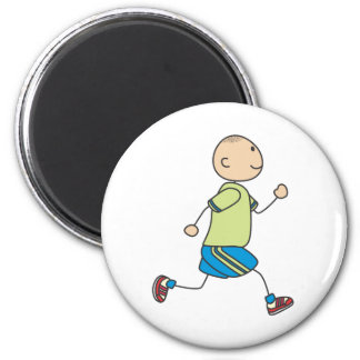 Cute Shirts | Cute Boy Running Gift Shirts Magnet