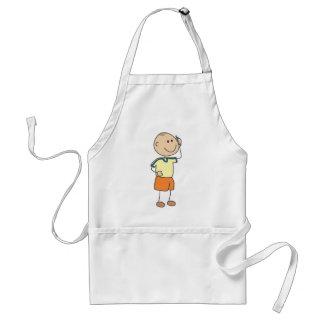 Cute Shirts | Cute Boy Talk Phone Gift Shirts Adult Apron