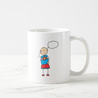 Cute Shirts | Cute Boy Thinking Gift Shirts Coffee Mug
