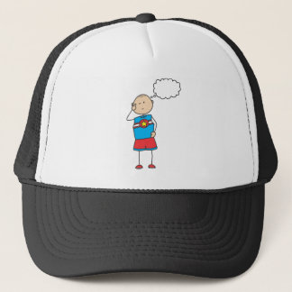 Cute Shirts | Cute Boy Thinking Gift Shirts Trucker Hat