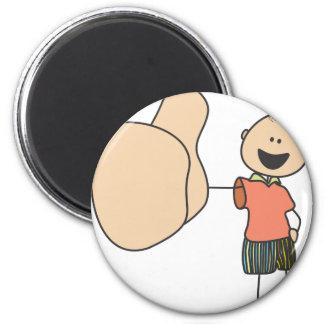 Cute Shirts | Cute Boy Thumbs Up Gift Shirts 2 Inch Round Magnet