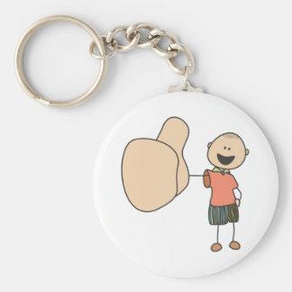 Cute Shirts   Cute Boy Thumbs Up Gift Shirts Keychain