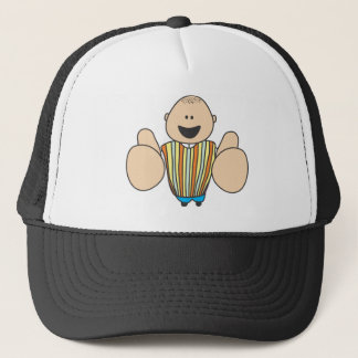 Cute Shirts | Cute Boy Two Thumbs Up Gift Shirts Trucker Hat