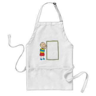 Cute Shirts | Cute Boy With Whiteboard Gift Shirts Adult Apron